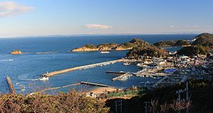 Tōshijima - Image: Port of Momotori