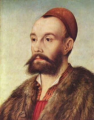 Hans Maler zu Schwaz - Portrait of Anton Fugger, by Maler