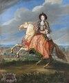 Porträtt. Ryttarporträtt.Madame La Comtesse de Saint Geran - Skoklosters slott - 88960.tif