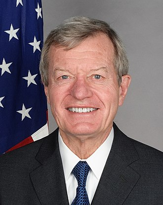 United States congressional delegations from Montana - Max Baucus, Montana's longest-serving senator, in office from 1978 to 2014