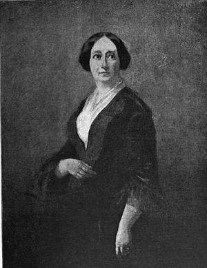 Thaddeus Leavitt - Jane Leavitt Hunt, granddaughter of Thaddeus Leavitt. Painted by son William Morris Hunt, Paris, 1850