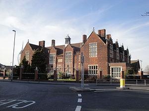 Portsmouth Grammar School - The old Grammar School building now houses the Upper Junior School