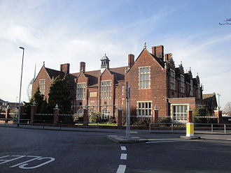 Portsmouth Grammar School - The old Grammar School building now houses the Upper Junior School