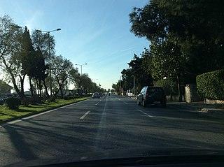Poseidonos Avenue Avenue in Athens