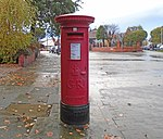 Post box on Cliff Road, Wallasey.jpg