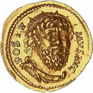 Postumus - Postumus aureus, 268, Treves, gold 7.40g.