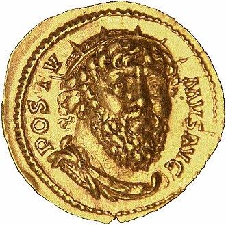 Postumus - Image: Postumus Treves aureus 268 gold 7400g