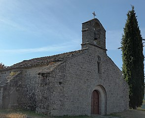 Pourchères, Ardèche, France. Eglise Saint-Julien 03.jpg