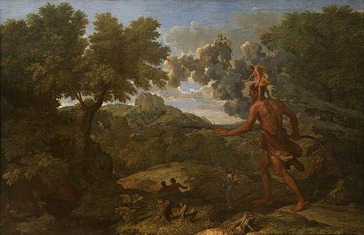 Poussin, Nicolas - Paysage avec Orion aveugle cherchant le soleil - 1658
