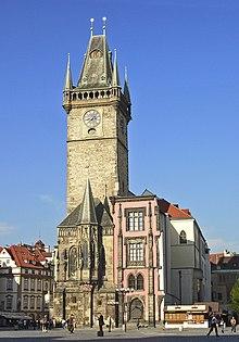 La torre del municipio della Città Vecchia
