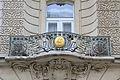 Prague Praha 2014 Holmstad nydelig art nouveau balcony jugend balkong flott.jpg