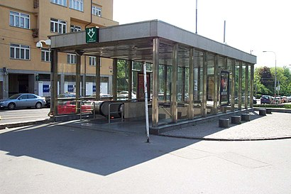 How to get to Jiřího Z Poděbrad with public transit - About the place