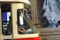 Praha, Nové Město, Most Legií, historická tramvaj T1 - čelo.jpg