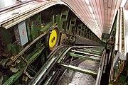 Praha, Nové Město, Stanice metra I. P. Pavlova, rekonstrukce eskalátorů II