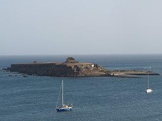 Ilhéu de Santa Maria - Image: Praia Ilhéu de Santa Maria (4)