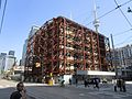 Preserving the beautiful facade of the old Westinghouse building, Soho and Wellington, 2017 05 18 -cf (34617330921).jpg