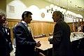 President George W. Bush and Anders Fogh Rasmussen meet at Camp David.jpg