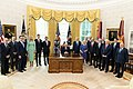 President Trump and The First Lady Participate in an Abraham Accords Signing Ceremony (50349065217).jpg