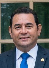Jimmy Morales President Trump and the First Lady Welcome the President and First Lady of Guatemala (49238996191) (cropped).jpg