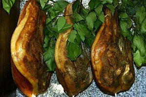 Presunto - Traditional ham of Chaves, Portugal