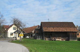 Pri Cerkvi–Struge Place in Lower Carniola, Slovenia