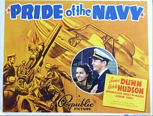 Pride of the Navy - Lobby card