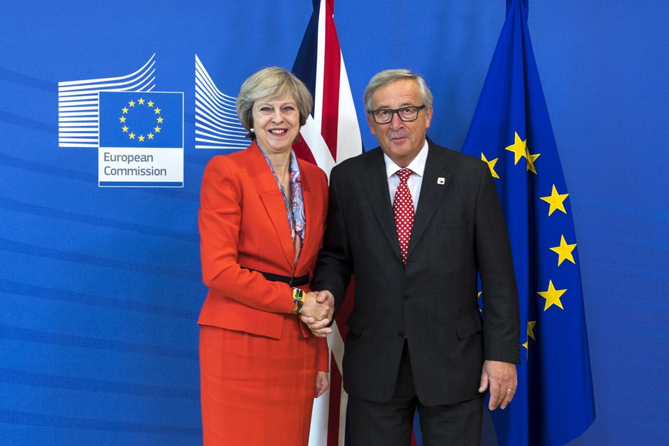 Prime Minister Theresa May met with Jean-Claude Juncker, President of the European Commission, after the European Council meeting