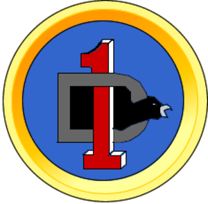 1st Division (Colombia) - 1st Division of the Colombian National Army seal