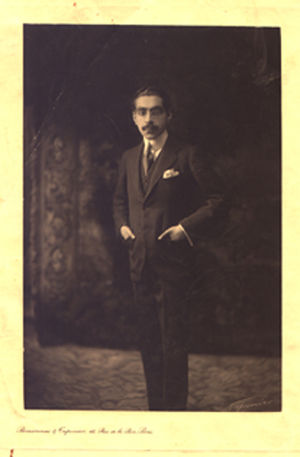 Firouz Nosrat-ed-Dowleh III - Nosrat-ed-Dowleh in his youth