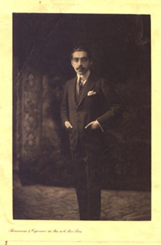 Firouz Nosrat-ed-Dowleh III - Nosrat-ed-Dowleh in his youth