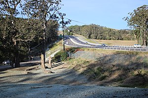 Broughton, New South Wales - Princes Highway at Broughton