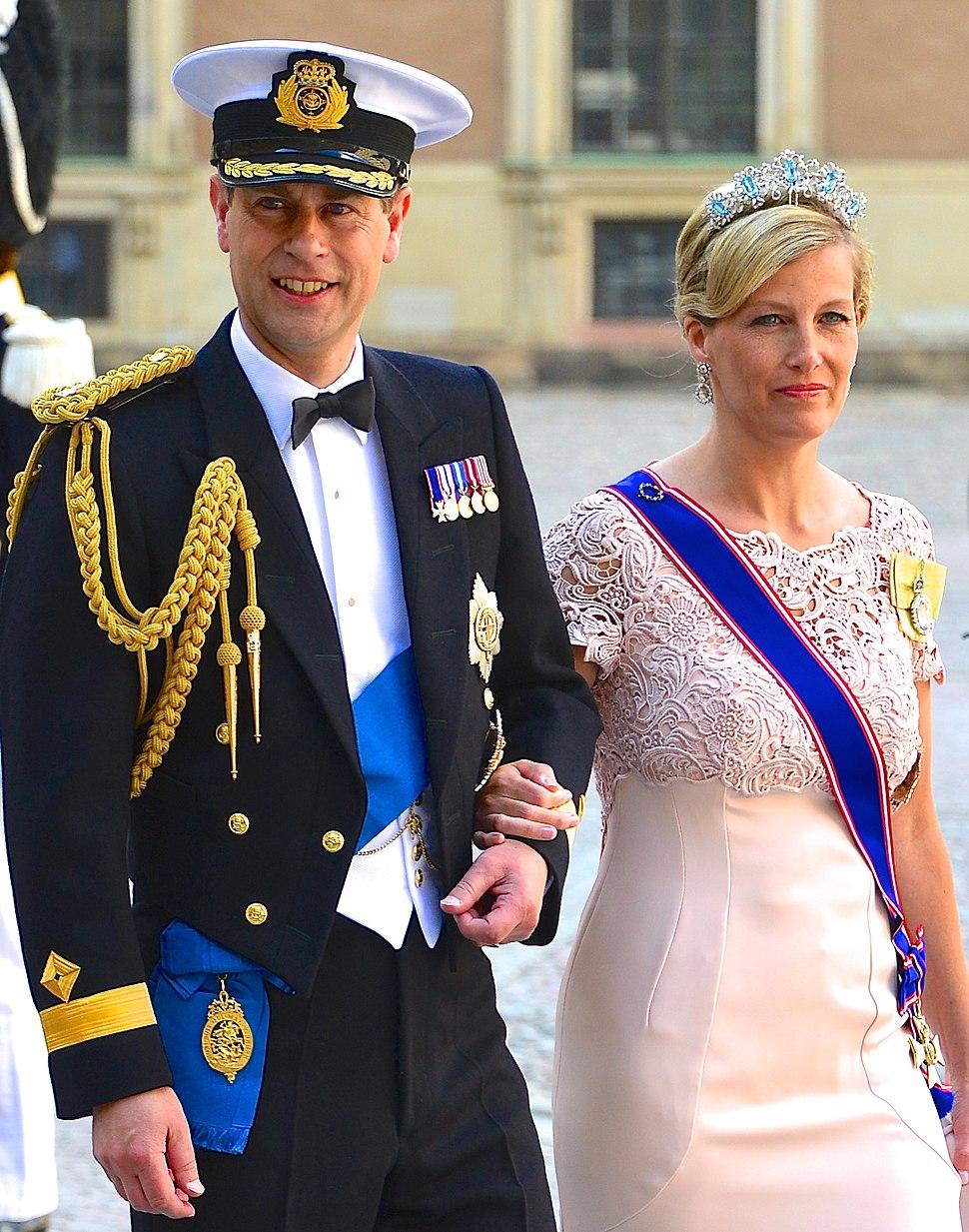 Prins Edward, earl av Wessex & Sophie, grevinna av Wessex -3