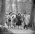 Prinses Benedikte en Prinses Margriet bezoek gebracht aan Keukenhof te Lisse, Bestanddeelnr 917-6273.jpg