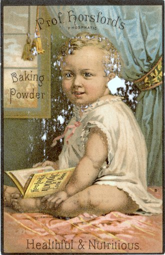 Baking powder - Prof. Horsford's Phosphatic Baking Powder, ca.1900