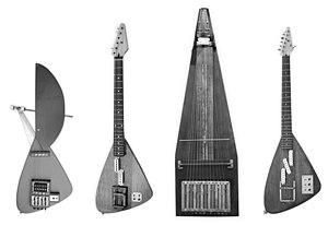 Yuri Landman - four early prototypes