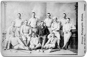 1879 Providence Grays season - Providence Baseball Club, 1879, York, Riley, Hines, Start, Denny, Nara, H. Wright, Radbourne, Gilligan, G. Wright, Farrell, Ward
