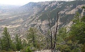 Pryor Mountains - Pryor Mountain terrain