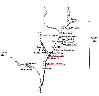 Pueblo IV Period - Pueblos in the Rio Grande valley