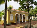 Puerto Rico — San Juan — yellow building near the port.JPG