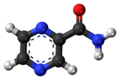 Pyrazinamide 3D ball.png