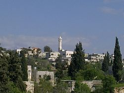 General view of Kafr Qaddum