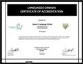 Queen's Language School Accreditation Certificate.png