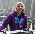 Queensland Netball Firebirds parade day-12 (19013070909).jpg