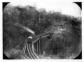 Queensland State Archives 3063 Train bridge on Main Range Toowoomba c 1870.png