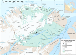 Quttinirpaaq National Park map-fr.png
