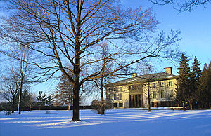 Embassy of France, Ottawa - The French Embassy serves as both chancery and ambassadorial residence