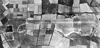 RAF Wittering - Aerial photograph of Wittering airfield, 9 May 1944