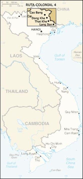 Battle of Đông Khê - Image: RC4 vietnam