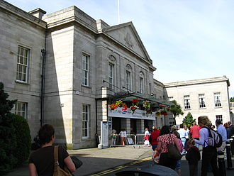 Royal Dublin Society - Front entrance