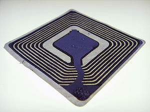 An example of a generic RFID chip.